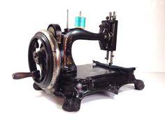 "Antique Victorian Grimme Natalis "" Atlas B "" Hand Sewing Machine   eBay"