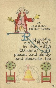 Flashback Fridays – Vintage New Year's Postcards