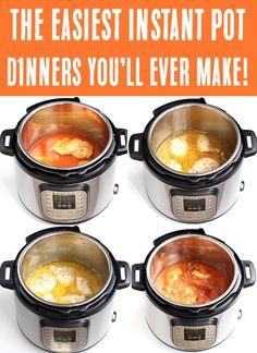 Best Instant Pot Recipe, Instant Recipes, Instant Pot Dinner Recipes, Easy Dinner Recipes, Easy Meals, Easy Recipes, Popular Recipes, Dinner Ideas, Delicious Recipes