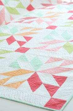 lucky quilt by croskelley-love these colors