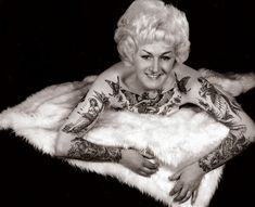 Cindy Ray; Ivanhoe, Australia (1960s) | 14 Truly Awesome Photos Of Tattoos Throughout History