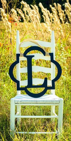 Framed Monogram Door Hanger