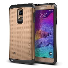 VRS Thor Series Samsung Galaxy Note 4 Case - Copper Gold
