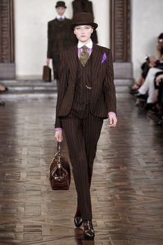 Menswear for ladies: 3-piece suit | Outfits | Pinterest | Suits ...