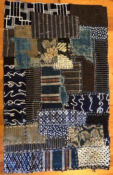 Sashiko Fabric - Butterflies and Sashiko - Sylvia Pippen Sashiko Pre-printed Fabric Kit - Japanese Embroidery, Quilting, Sewing - Embroidery Design Guide Sashiko Embroidery, Embroidery Patterns Free, Japanese Embroidery, Embroidery Art, Embroidery Designs, Japanese Quilts, Japanese Textiles, Textile Fiber Art, Textile Artists
