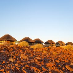 Palmwag Lodge offers the ideal location for those planning on exploring the breathtaking Namibian scenery!  #Namibia #sunset #lodge #roadtrip #travel #nature