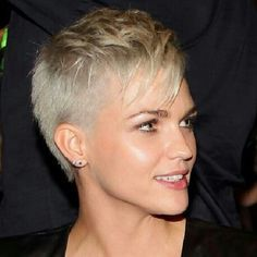 pixie shaved haircut - Google Search