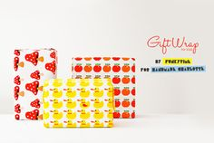 hi-tech monday: free printable gift wrap