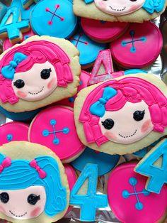 Lalaloopsy cookies