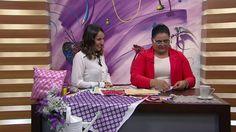 Mulher.com - 27/05/2016 - Ponto aranha espanhola com fitas - Valeria Soares PT1