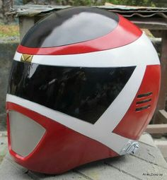 Red Space Ranger helmet