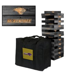 Giant Tumble Tower Game - McKendree Bearcats