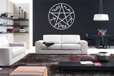 I'm surprised more Supernatural fans don't have these on their ceilings.