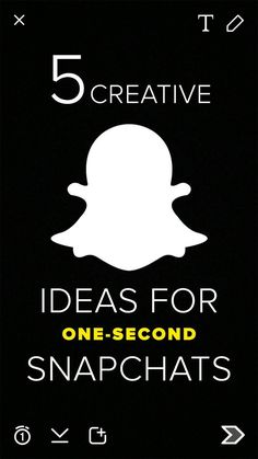 You can say a lot in a one-second Snapchat.[ CaptainMarketing.com ]