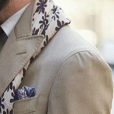 Desert colors, Neapolitan shoulder  #mnswr #menswear #mensstyle #mensfashion #mensclothing #menwithclass #fashion #fashionable #fashionista #fashionblogger #dapper #details #different #sophisticated #sprezza #sprezzatura #sartorial #sartorialist #bespoke #tailored #tailoring #gentleman #gentsboutique #inspire #gq #pittiuomo #italian by @marcusmalmberg