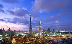 dubai, skyscrapers, uae, United Arab Emirates, Burj Khalifa