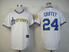 733317149 Seattle Mariners 24 Ken Griffey Jr Jersey Stitched Baseball JerseyShirt  Embroidery Free Shipping