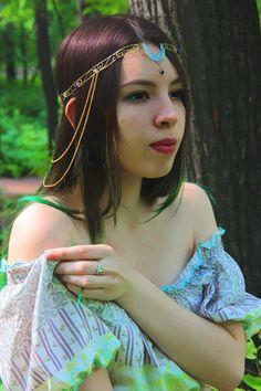 Bridal Hair Vine, Magic Art, Fantasy Jewelry, Elf, Hair Styles, Beauty, Design, Hair Plait Styles, Hair Makeup