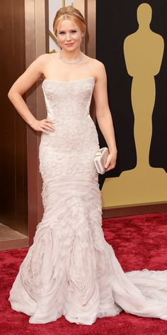 Exclusive! Get Ready for the 2014 Academy Awards with Kristen Bell - At the Oscars from #InStyle