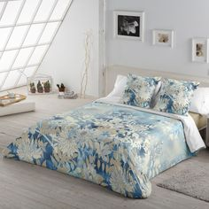 Comforters, Blanket, Bed, Furniture, Home Decor, Accent Pillows, House Decorations, Fabrics, Blue Backgrounds