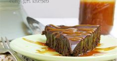 This dessert that I made for Easter dinner with my parents is a celebration of rich dark chocolate and gooey caramel, as well as the resul...