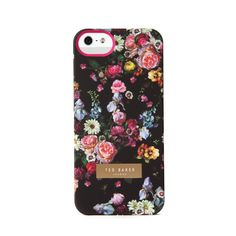 Ted Baker TANALIA - Oil painting iPhone case (60 AUD) ❤ liked on Polyvore featuring accessories, tech accessories, phone cases, phones, iphone, iphone cases, black, iphone sleeve case, apple iphone cases and ted baker iphone case