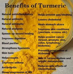 Benefits of turmeric - try golden milk