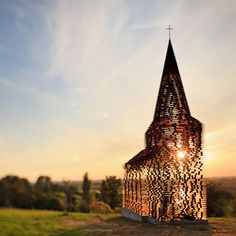 Once upon a time in a See-Through Church - by Gus Van Vaerenbergh