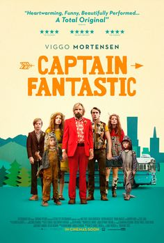 Watch Captain Fantastic movie trailer and book Captain Fantastic tickets online Movie Poster Font, Poster Fonts, Best Movie Posters, Retro Poster, Cinema Posters, Poster S, Viggo Mortensen, Comedy Movies, Film Movie