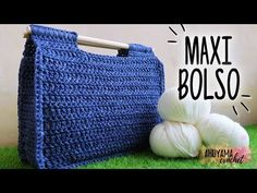 Crochet Very Stylish Hanbag - Crochet Ideas Crochet Tote, Crochet Purses, Knit Crochet, Knitting Projects, Crochet Projects, Crochet Designs, Crochet Patterns, Crochet Videos, Knitted Bags