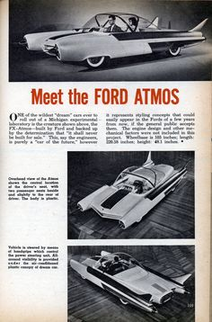 Take this car, add a modern electric motor, and perhaps it's time has come... or maybe wait for flying cars. Either way I want one.