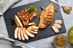 5 Easy, Super-Flavorful Marinade Recipes for Grilled Chicken: Who says eating healthy can't be enjoyable? Incorporate these delicious grilled chicken recipes into a salad or quinoa bowl for nutritious take-to-work lunch or dinner. How To Cook Chicken, Cooked Chicken, Chicken Salad, Lime Chicken, Korean Chicken, Turkey Chicken, Frozen Chicken, Chicken Rice, Grilled Chicken Recipes
