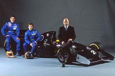 Karl Wendlinger / Heinz-Harald Frentzen / Peter Sauber (Sauber-Mercedes V10, C13 Launch). 1994