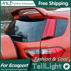 186.55$  Buy here - http://ali0mh.worldwells.pw/go.php?t=32605229050 - AKD Car Styling for Ford Ecopsort Tail Lights 2011-2014 Ecosport LED Tail Light LED Rear Lamp DRL+Brake+Park+Signal 186.55$