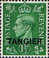 Morocco Agencies TANGIER 1950 SG 282 King George VI Fine Mint Scott 552 Other Tangier Stamps HERE