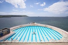 Tinside Lido underwent a million restoration in 2003 and has been voted one of Europe's top 10 pools Travel News, Staycation, Outdoor Pool, About Uk, Britain, Places To Visit, Around The Worlds, Swimming, Europe