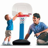 Little Tikes easy score basketball set.  And at 20, he continues to SCORE!
