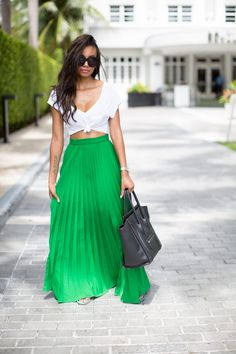 Flourishing Green Maxi…