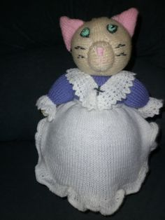 Mrs Tabitha Twitchet is designed by Alan by Marionsknittedtoys, $38.00