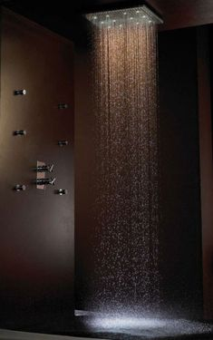 vertical shower!