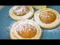 Süße Spiegeleier - Rezept von Joes Cucina Verde Doughnut, Camembert Cheese, Desserts, Food, Youtube, Fried Egg Recipes, Apricot Recipes, Puff Pastry Recipes, Fried Eggs
