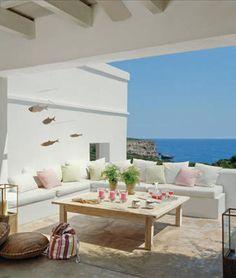 ChicDecó: Una casa de estilo meditarráneo A house of Mediterranean style