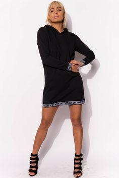 Long Hoodie Dress
