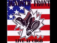 Agnostic Front Live At CBGB FULL 1989 - YouTube
