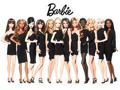 Barbies de pretinho básico