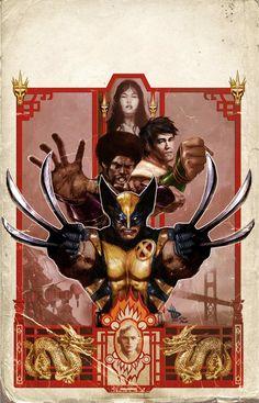 Wolverine Manifest Destiny #3 by Comic Artist Dave Wilkins #Illustration #Comics #Drawing