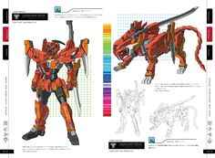 Nostalgic Fiction Gundam Beast Compilation Really Cool Fan Made Images And Information From Kuruni Hundred