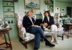 Sen. Edward Kennedy and his wife Victoria hold hands as they sit in... News Photo | Getty Images