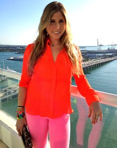 neon chic -- love this post by @Kimberly Everman #mfr