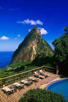 JADE MOUNTAIN  Saint Lucia